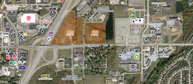 +/-34 AC, I-69 & 116th (NEC), Fishers, IN