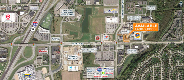 NEW RETAIL – 116th & Cumberland, Fishers, IN